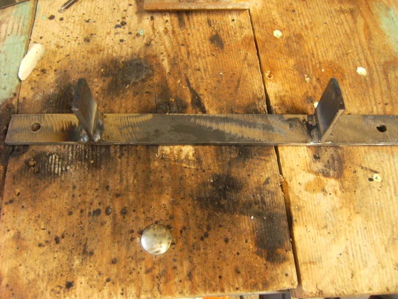 Fabrication support roue de secours  Suppor12