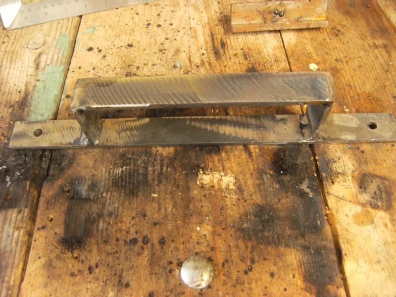 Fabrication support roue de secours  Suppor13