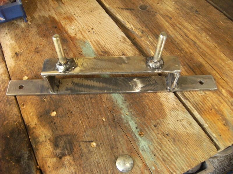 Fabrication support roue de secours  Suppor19