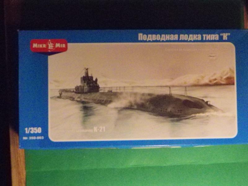 """Mikromir: sous marins Russe au 1/350 """" K21"""" Imgp1310"""