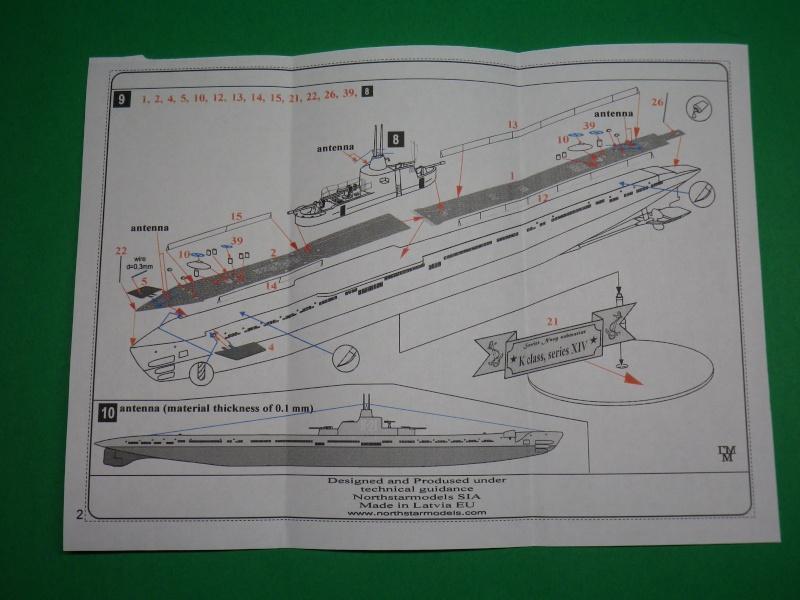 """Mikromir: sous marins Russe au 1/350 """" K21"""" Imgp1412"""