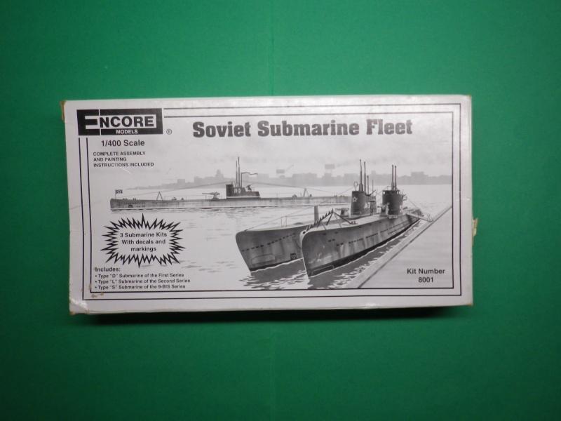 Encore- Models:Sous marins Russe au 1/400 Imgp3210