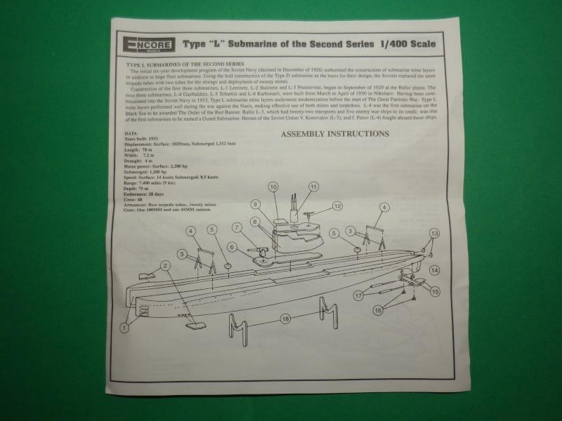 Encore- Models:Sous marins Russe au 1/400 Imgp3212
