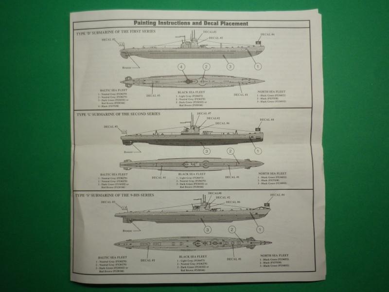 Encore- Models:Sous marins Russe au 1/400 Imgp3220