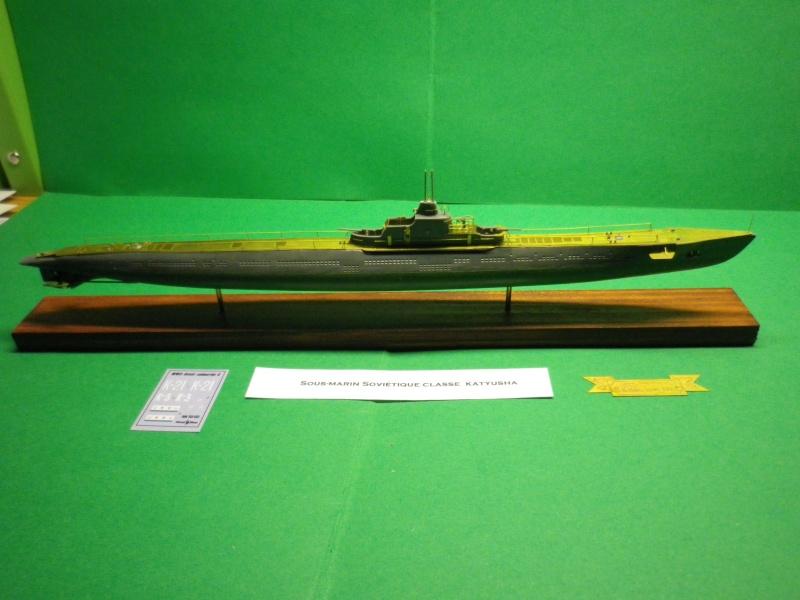 """Mikromir: sous marins Russe au 1/350 """" K21"""" Imgp3234"""