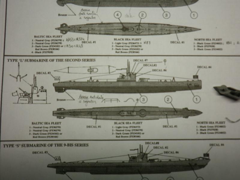 Encore- Models:Sous marins Russe au 1/400 Imgp3260