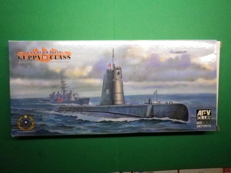 sous marins Guppy AFV - CLUB au 1/350 Imgp3326
