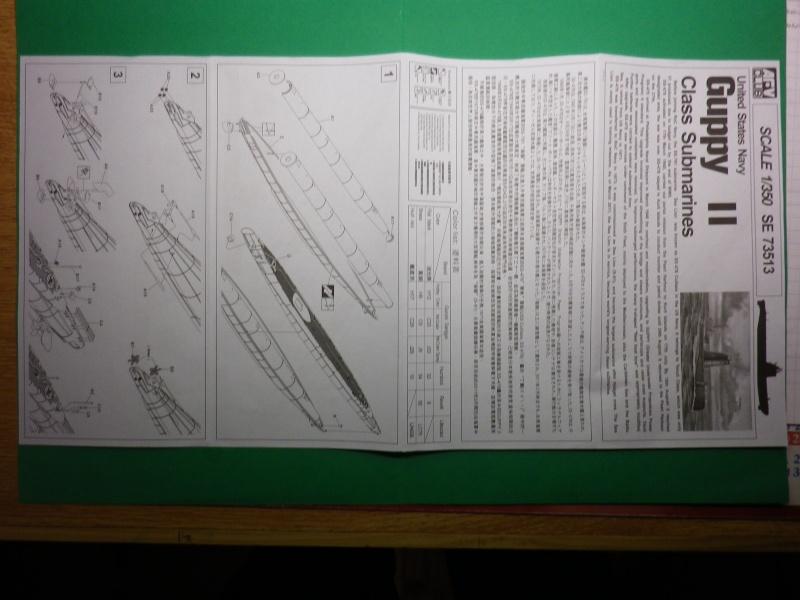 sous marins Guppy AFV - CLUB au 1/350 Imgp3328