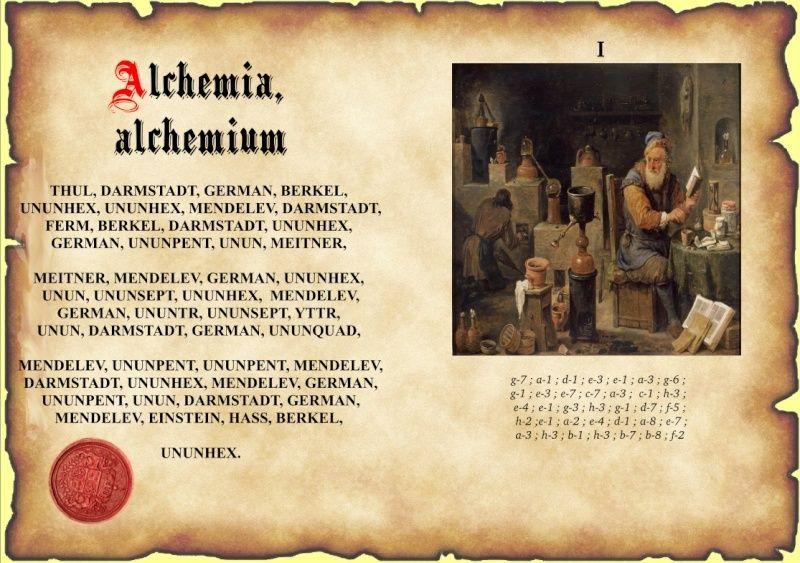 Enigme I : Alchemia, alchemium Hefoly10
