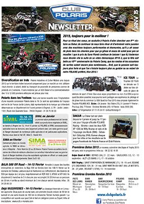 Newsletter du Club Polaris  Janvie10