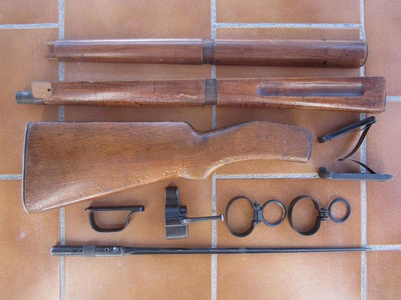 Lot de pièces pour Mas 36 2ème type post 1945 + bois + baionnette  - ESC 3 -ULTIME BAISSE DE PRIX Vendu Img_8913