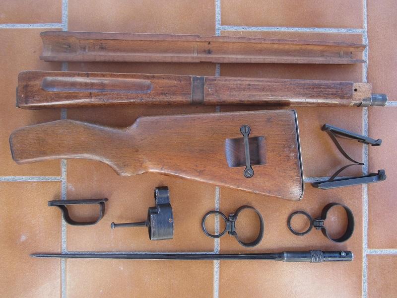 Lot de pièces pour Mas 36 2ème type post 1945 + bois + baionnette  - ESC 3 -ULTIME BAISSE DE PRIX Vendu Img_8914