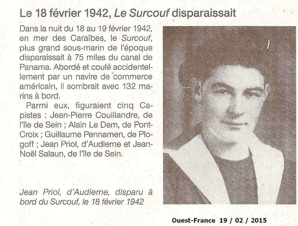 [ Divers - Les classiques ] LE CROISEUR SOUS-MARIN SURCOUF - Page 4 Numyri19