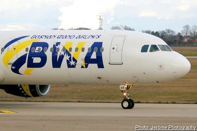 Compagnie Bosnian Wand Airlines et son unique Airbus A-321! Imgp1215