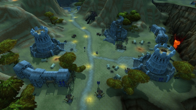 The Road through Kalimdor [Northern Kalimdor, patch 5.3] Wowscr11