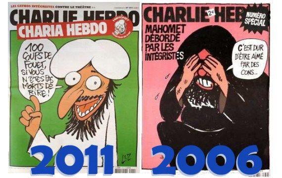 CHARLIE HEBDO Unes_d10