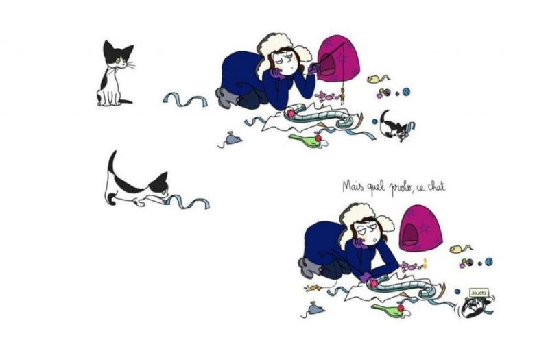 Les chats et les cadeaux .... 41845610