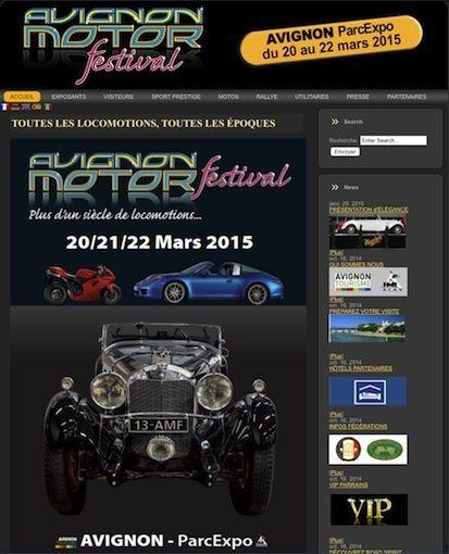 Avignon Motor Festival du 20 au 22 mars 2015 Avigno10
