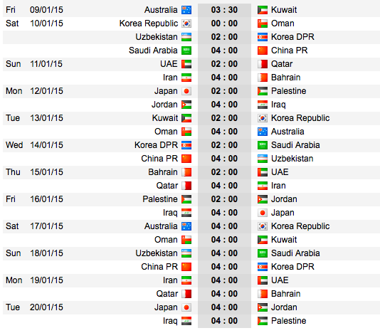 Asian Cup of Nations 2015 Screen10