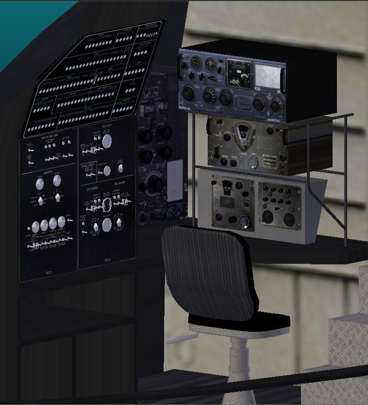 Développement de la Caravelle SE-210 - Page 8 Radiod13