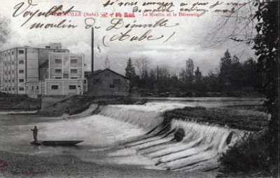 """Aube  - Plombs de scelles """"Brisson-Dauthel Brienne - Moulin de Dienville"""". Moulin13"""