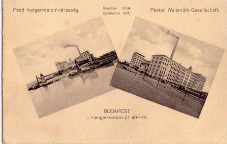 """002 - Plomb de scelle """"PESTI HENGERMALOM"""". Pesti_10"""