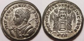 Pseudo-argenteus non publié de Maximin II Daïa frappé à Trèves (hybride ?) 3157110