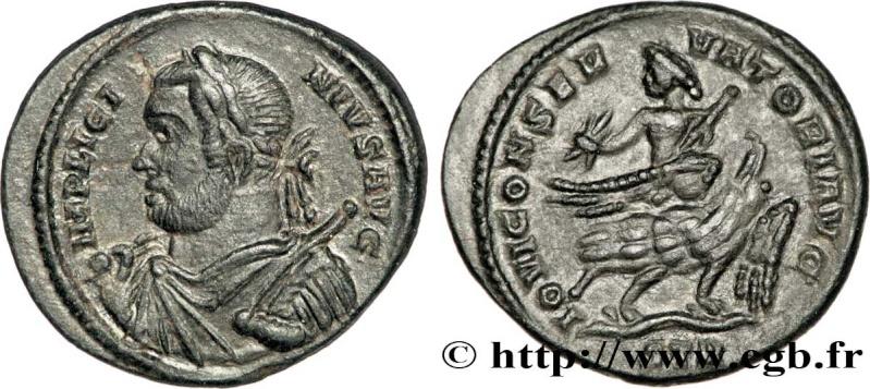 Pseudo-argenteus non publié de Maximin II Daïa frappé à Trèves (hybride ?) Licini13