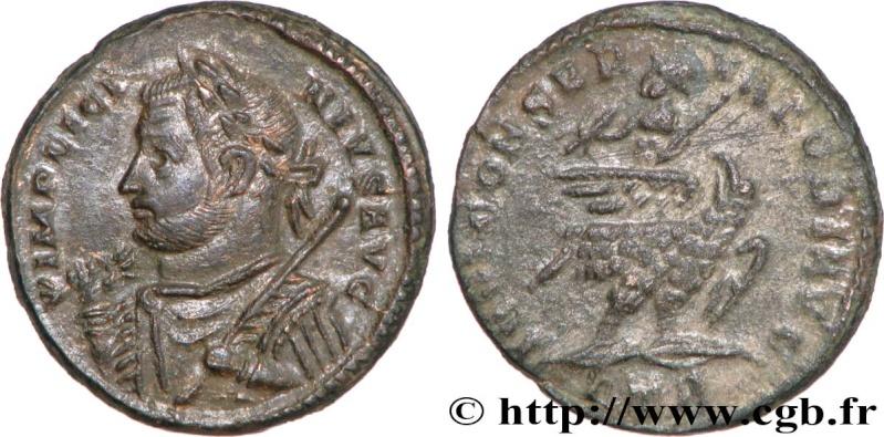 Pseudo-argenteus non publié de Maximin II Daïa frappé à Trèves (hybride ?) Licini15