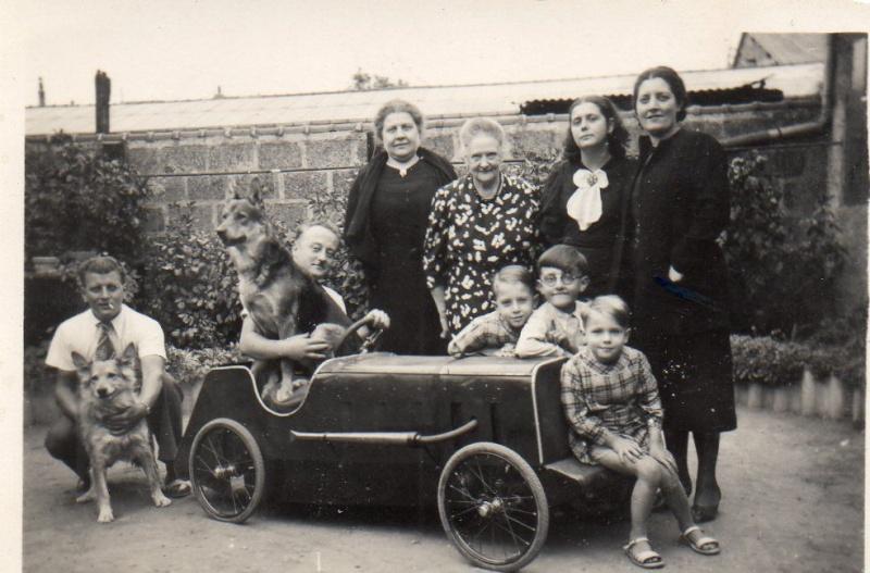 Championnats de jouets sportifs 1932 - (voitures à pédales) _57hhh10
