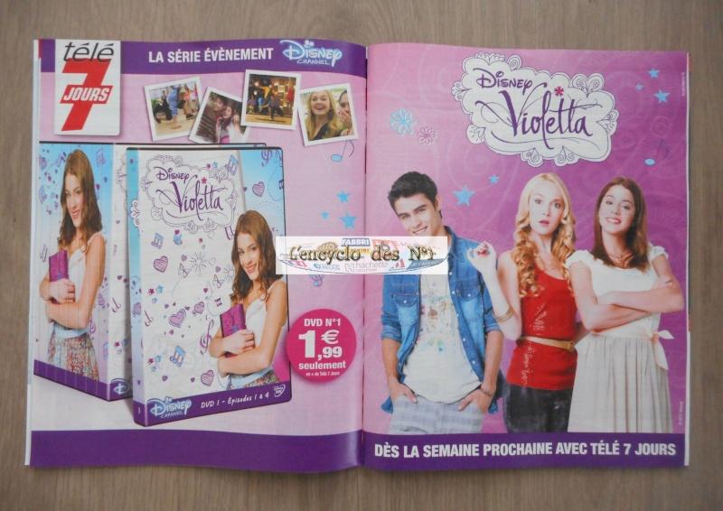 N° 1 Collection DVD Violetta - 12 Janv 2015 Dscn2510