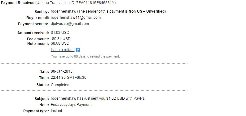 fridaypaydays GPT MY LATEST  PAYMENT PROOF Fri_510