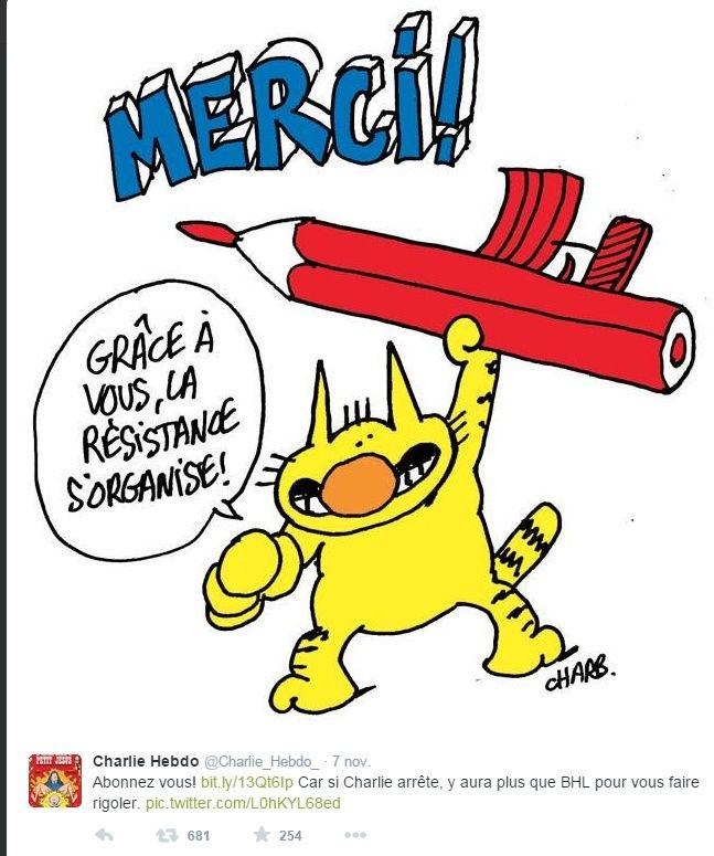 Charlie-Hebdo - 13 11 2015 - Bruxelles - Nice - Page 2 Charli14