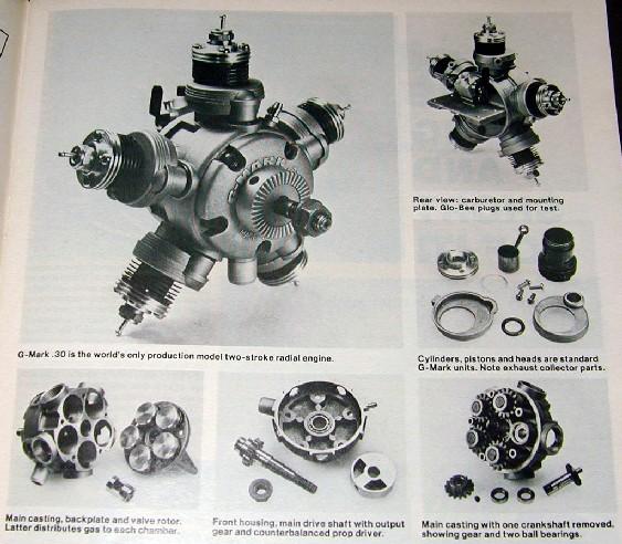 G-Mark 5 Cylinder Radial .030 G-mark10
