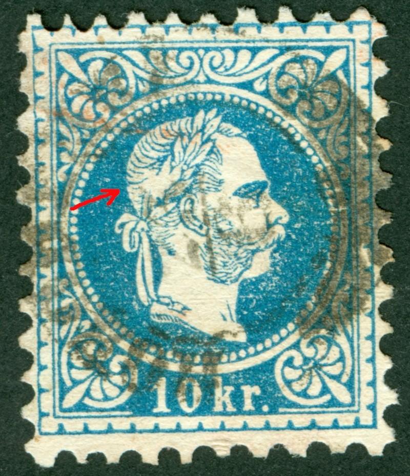 Freimarken-Ausgabe 1867 : Kopfbildnis Kaiser Franz Joseph I - Seite 9 1867_110