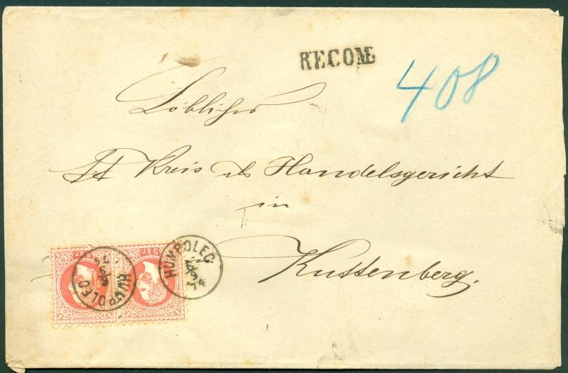 Freimarken-Ausgabe 1867 : Kopfbildnis Kaiser Franz Joseph I - Seite 9 1867_210