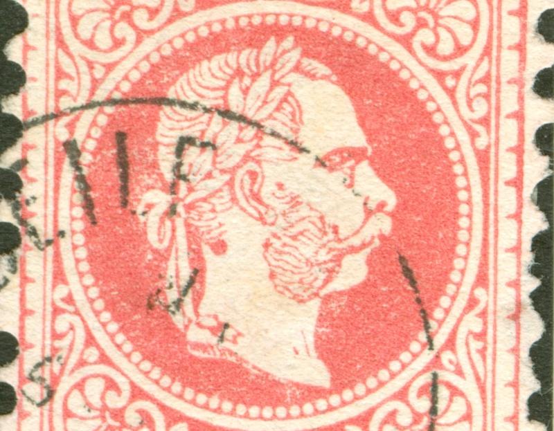 Freimarken-Ausgabe 1867 : Kopfbildnis Kaiser Franz Joseph I - Seite 8 1867_510