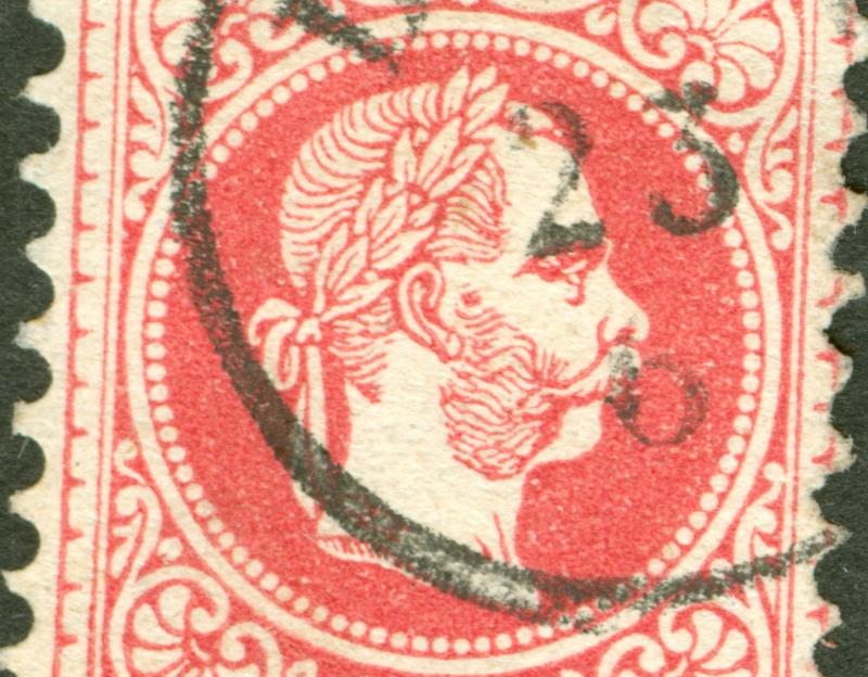 Freimarken-Ausgabe 1867 : Kopfbildnis Kaiser Franz Joseph I - Seite 8 1867_511