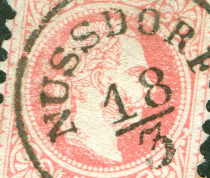 Freimarken-Ausgabe 1867 : Kopfbildnis Kaiser Franz Joseph I - Seite 8 1867_514