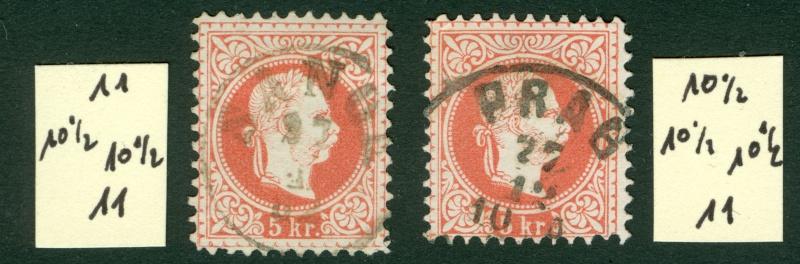 Freimarken-Ausgabe 1867 : Kopfbildnis Kaiser Franz Joseph I - Seite 9 1867_516