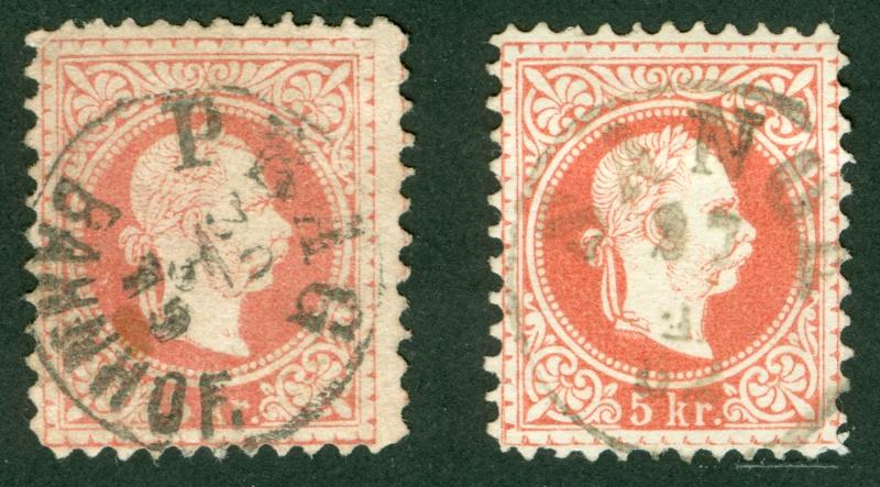 Freimarken-Ausgabe 1867 : Kopfbildnis Kaiser Franz Joseph I - Seite 9 1867_518