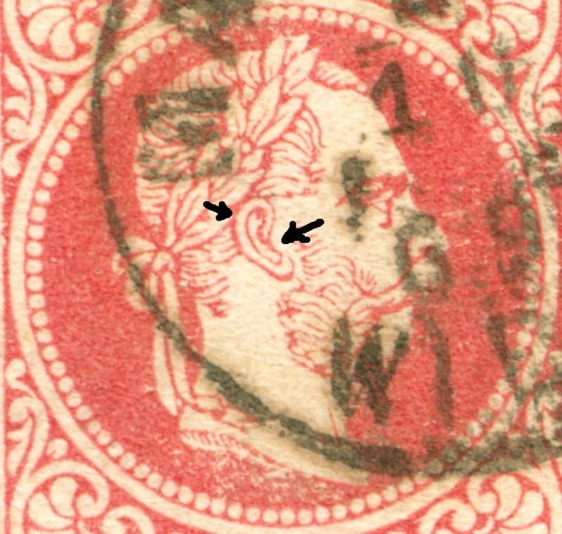 Freimarken-Ausgabe 1867 : Kopfbildnis Kaiser Franz Joseph I - Seite 9 1867_520