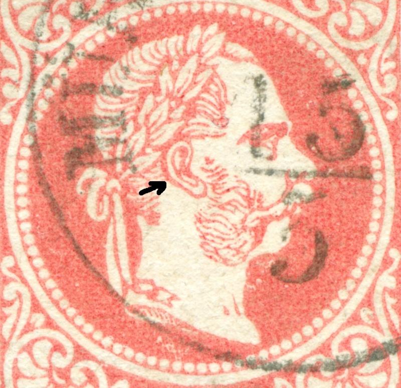 Freimarken-Ausgabe 1867 : Kopfbildnis Kaiser Franz Joseph I - Seite 9 1867_521