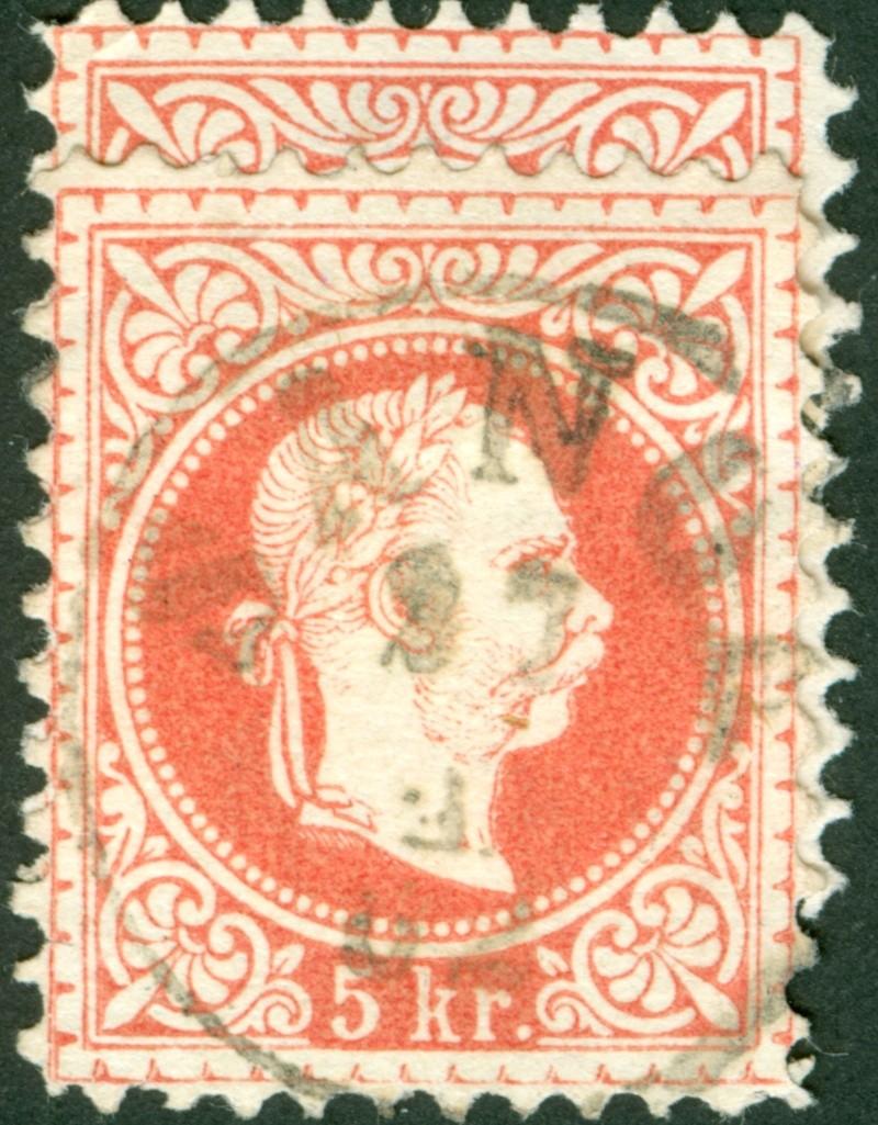 Freimarken-Ausgabe 1867 : Kopfbildnis Kaiser Franz Joseph I - Seite 8 1867_z10