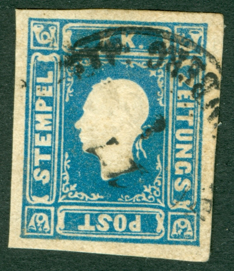 DIE ZEITUNGSMARKEN AUSGABE 1858 Zeitun12
