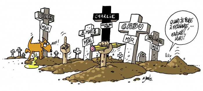 ASTÉRIX ET OBÉLIX PLEURENT CHARLIE HEBDO Daniel10