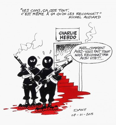 ASTÉRIX ET OBÉLIX PLEURENT CHARLIE HEBDO Dany10