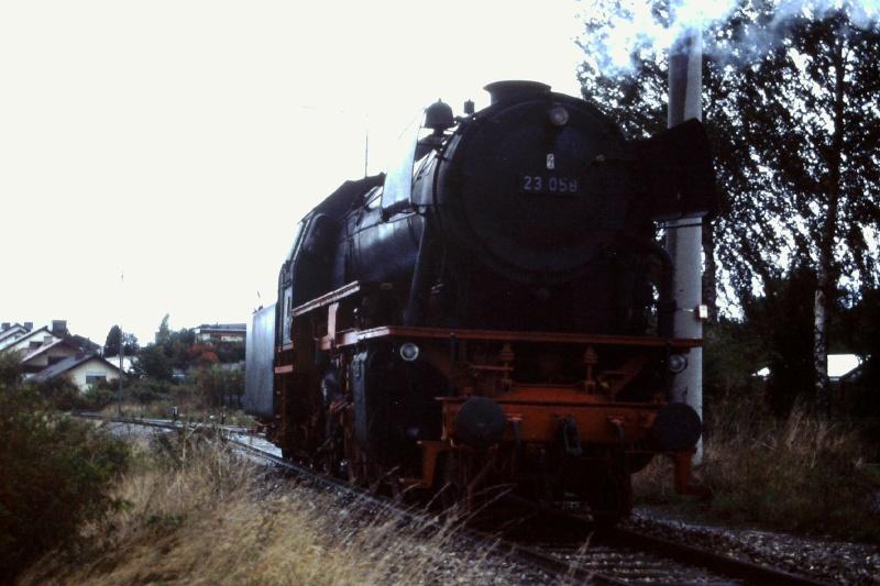 Die BR 23 der DB 2015-021