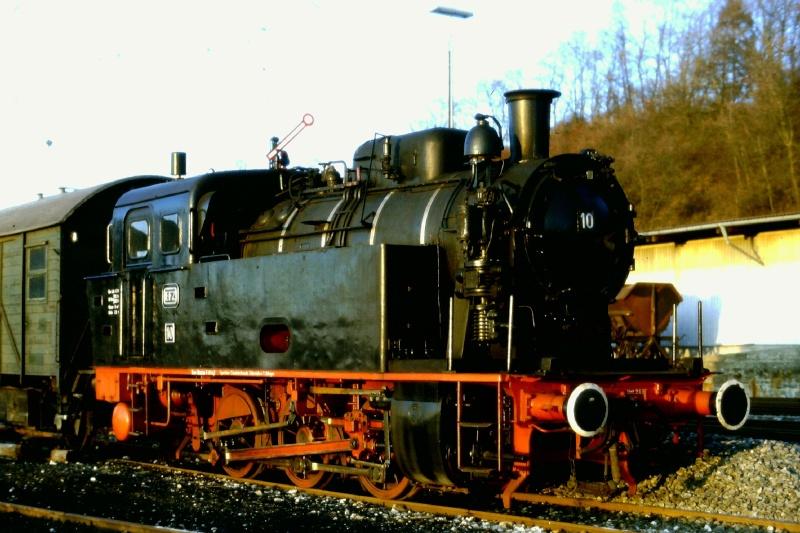 Lok 10 ehemalige EFZ Lok vom Typ Knapsack 2015-108