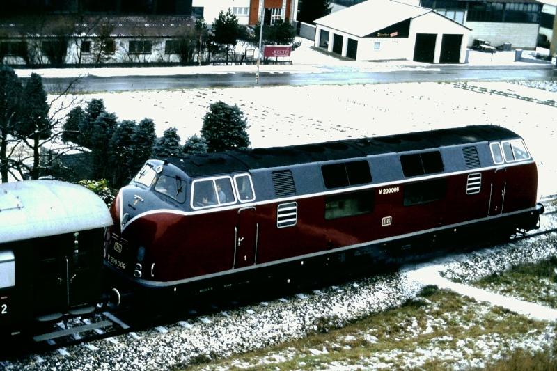 Die Baureihe 220 / V200 der DB - der Klassiker 2015-148